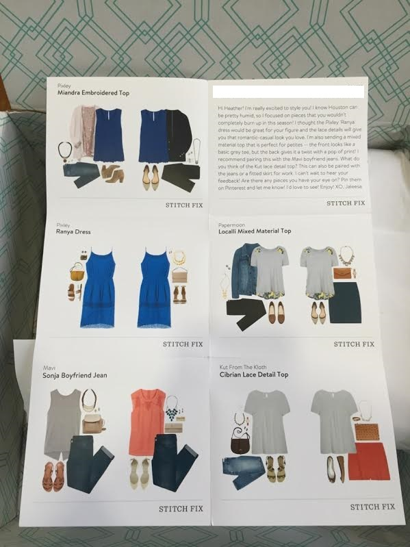stitch fix june style guide