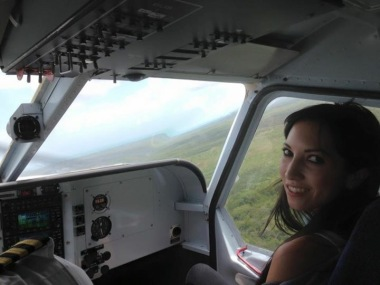 Co-piloting this flight! :)