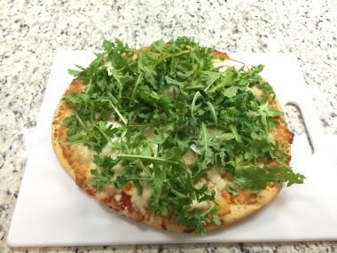 Topped with Arugula