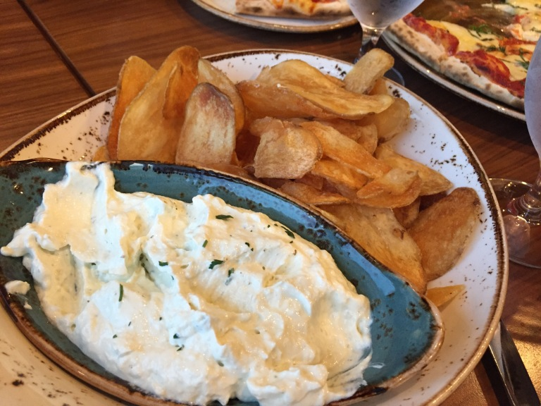 House-Made Potato Chips and Dip