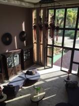 Lobby at the spa
