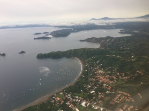 Flying into Liberia Airport