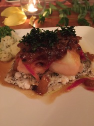Sea Bass Dinner @ LADE