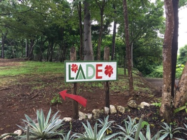 LADE sign