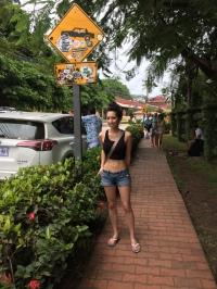 Walking around Tamarindo