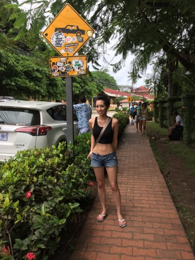 Walking around Tamarindo