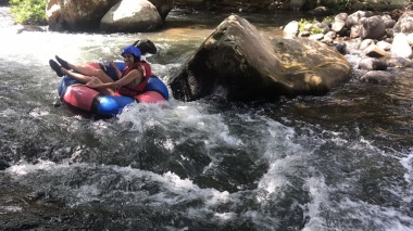 Tubing in the River