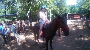 My horse's name is Tornado =/
