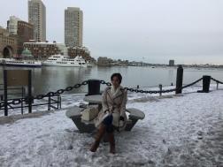 Enjoying Boston
