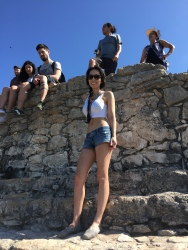 At the top of Coba