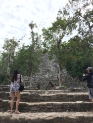 Exploring the Mayan City of Coba