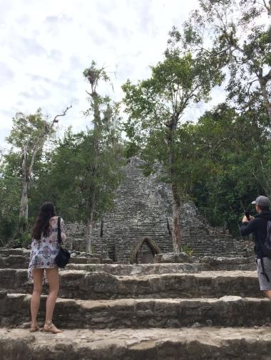 Exploring the Mayan City of Coba