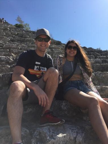 Climbing Coba