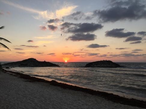 Sunrise view from El Pez