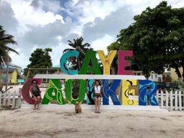 Caye Caulker sign