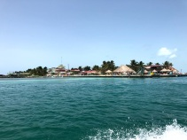 View of Lazy Lizard from the boat