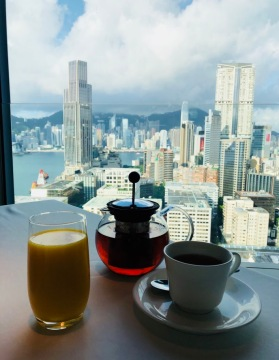 Breakfast Views @ Hotel Icon