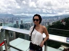 Happy in Hong Kong =)